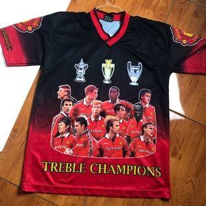Manchester United Treble Champions Jersey.